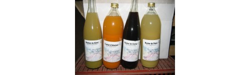 Nectars de fruits locaux